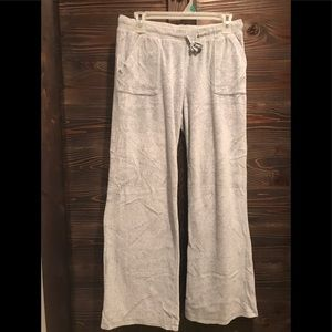 Gray color vintage style sweatpants